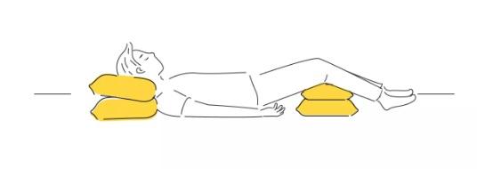 خوابیدن در یک وضعیت آسوده